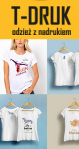 nadruki na koszulki online